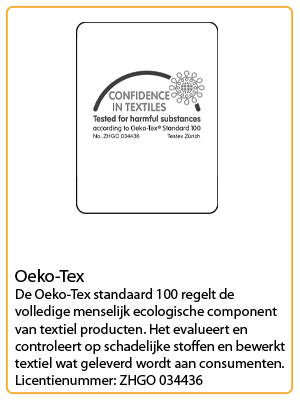 neutral certificaat oeko tex
