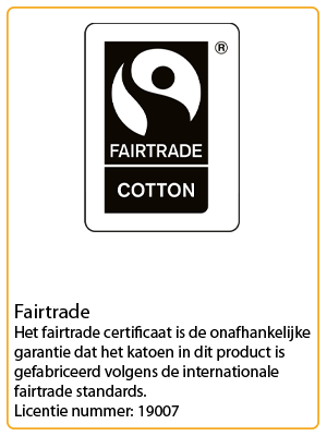 neutral certificaat fairtrade