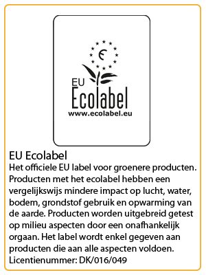 neutral certificaat eu ecolabel